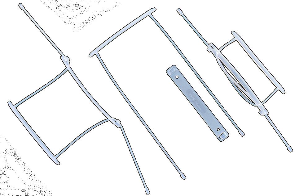 Ganchos legajadores folio largo para documentos pl stico for Ganchos de plastico para cortinas