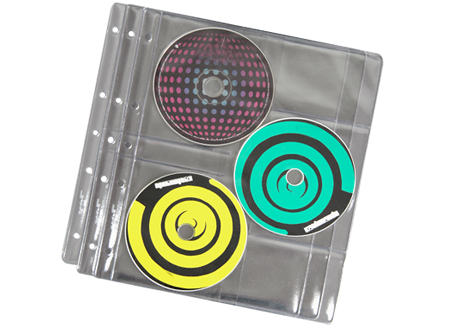 Funda CD/DVD